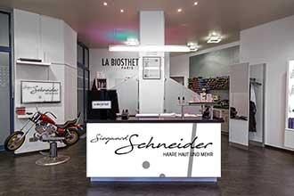 Empfangstresen Friseur Osnabrück Salon Siegward Schneider